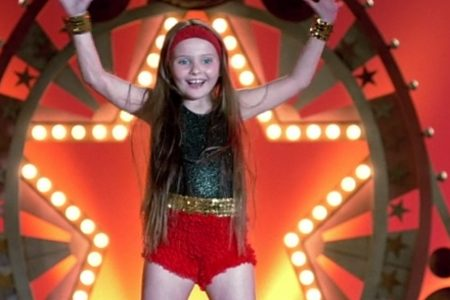 Abigail Breslin in the dance scene from the 2006 movie Little Miss Sunshine