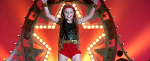 Abigail Breslin in the dance scene from the 2006 movie Little Miss Sunshine