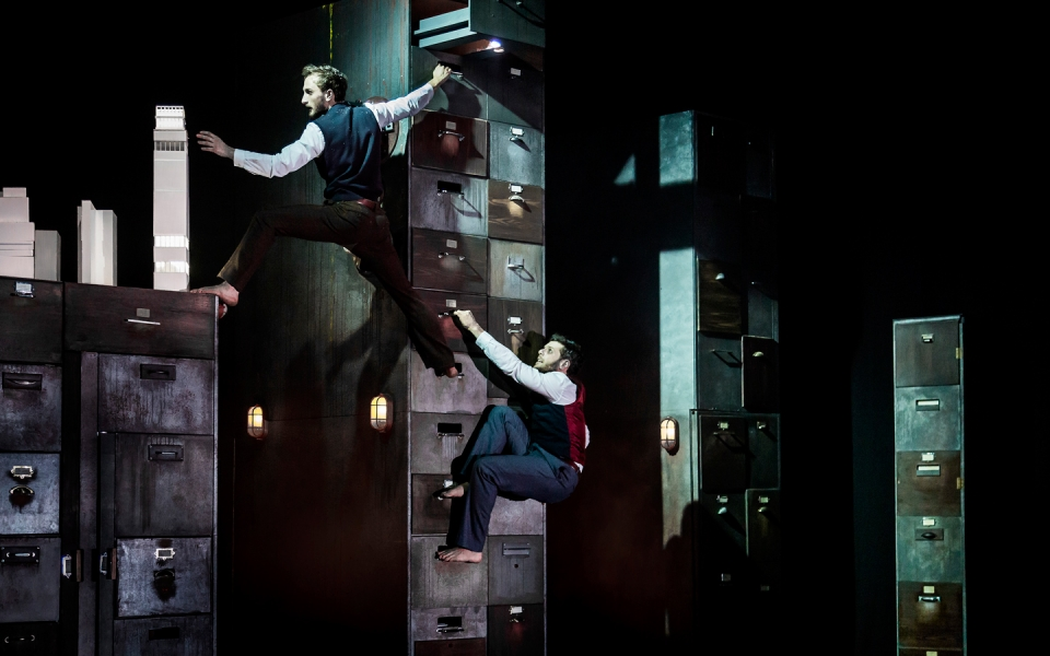 Photo of Institute, by physical theatre company Gecko