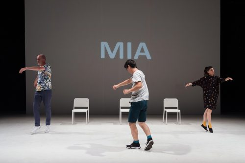 Michikazu Matsune, Elizabeth Ward and Frans Poelstra in Matsune's All Together.
