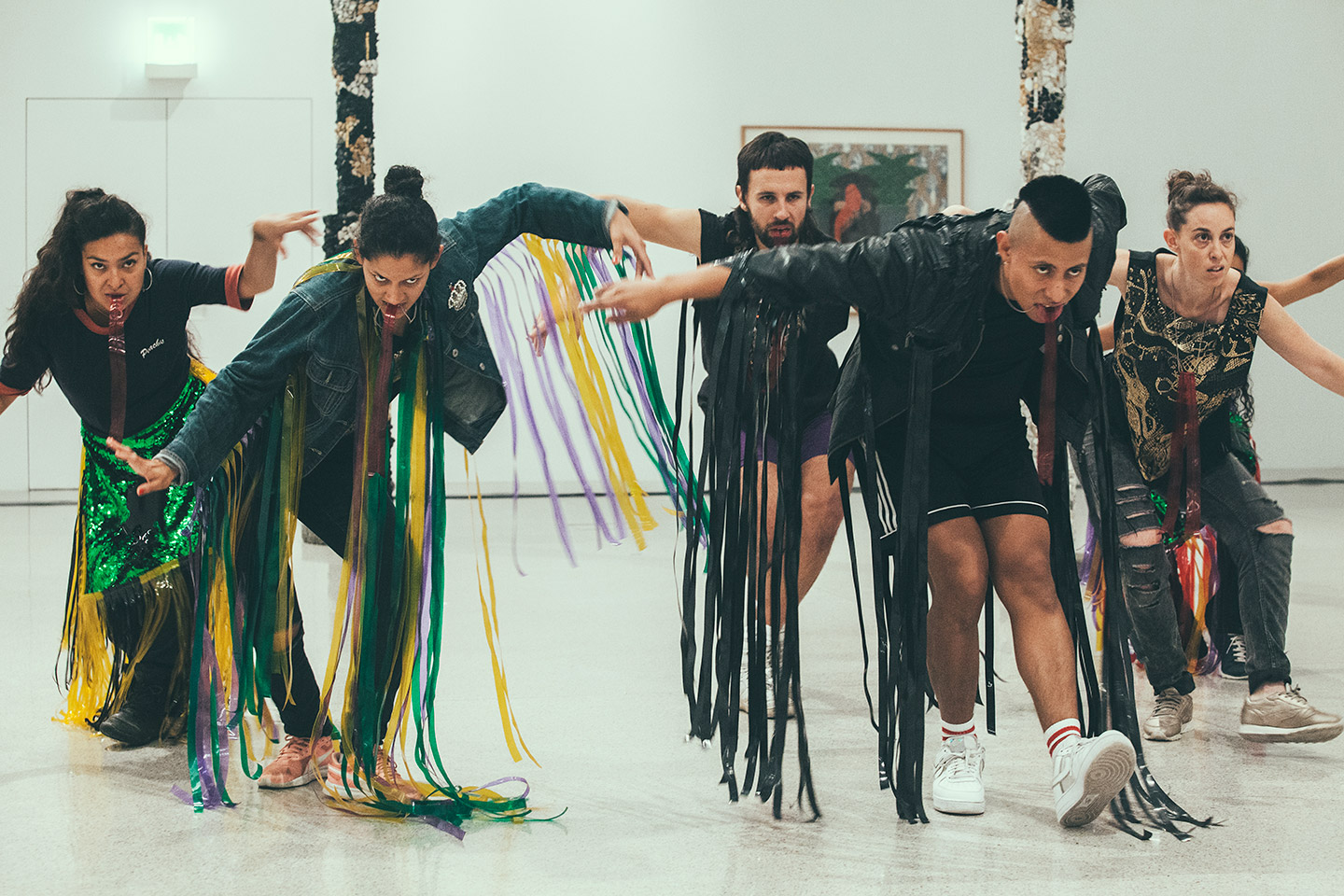 Commotion in the museum: Amanda Piña's Danza y Frontera.