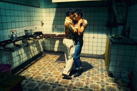 a kitchen tango lesson in Wong Kar-wai's Happy Together