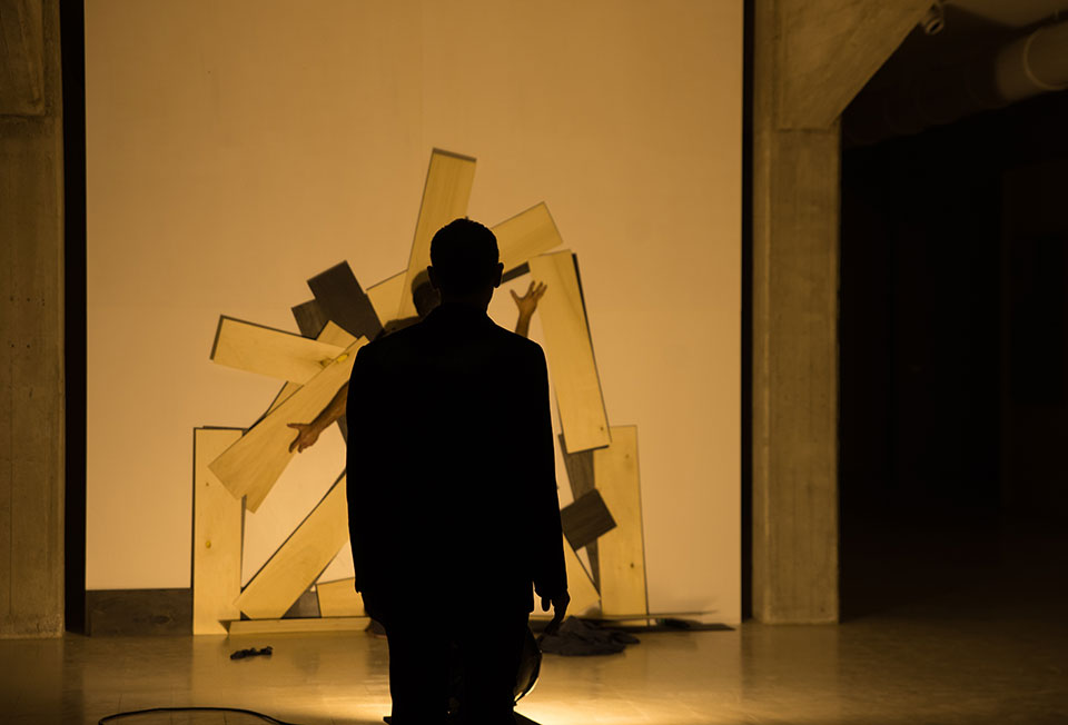Dimitris Papaioannou's Sisyphus/Trans/Form. Photo © Julian Mommert