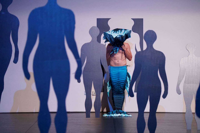 Transhuman Hai by Porson's Khashoggi (Xeni Alexandrou and Andrea Rama). Photo © Dieter Hartwig