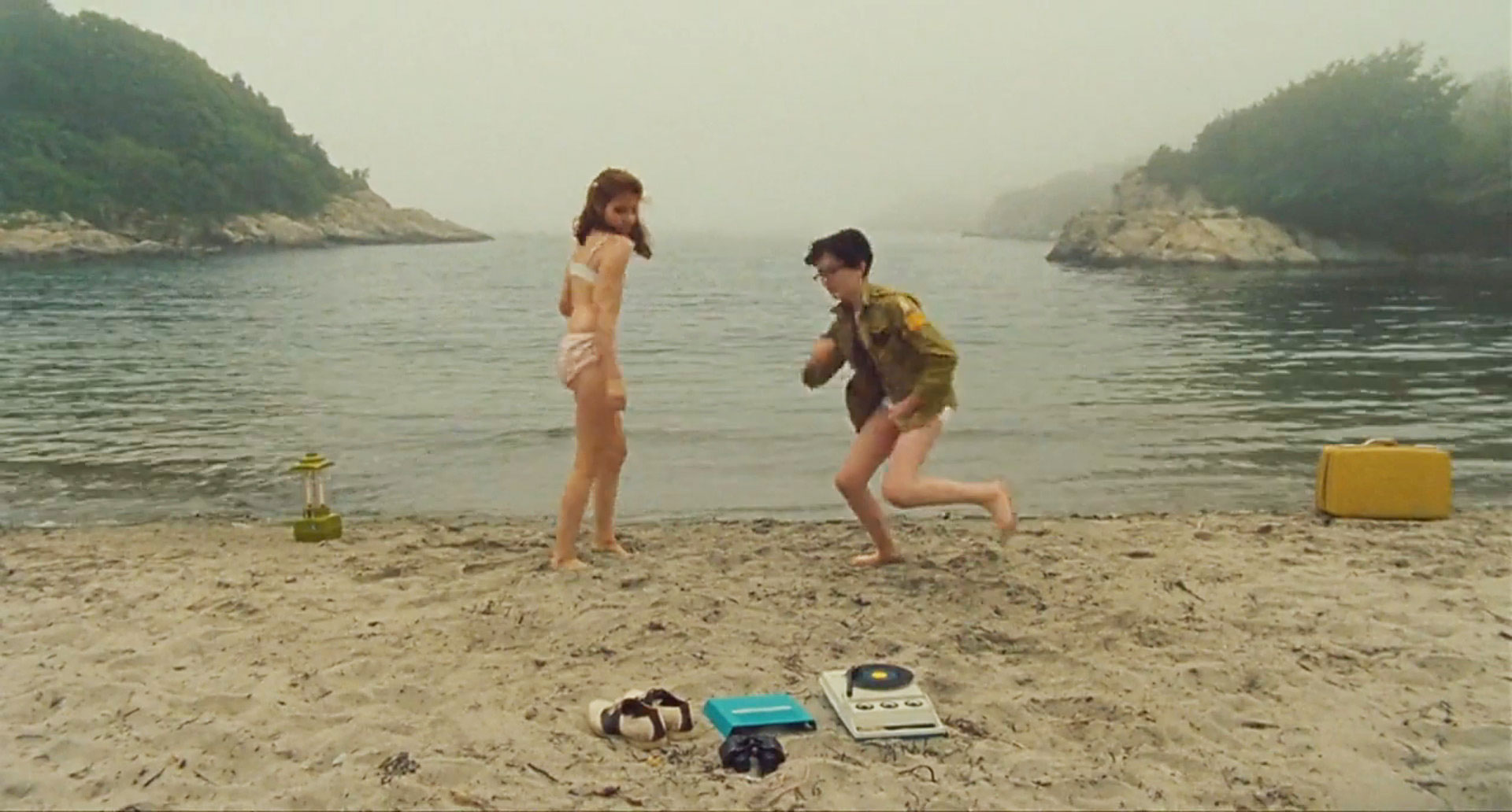 Beach dance in Wes Anderson's Moonrise Kingdom