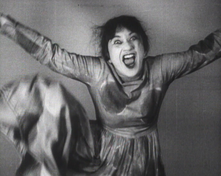 Valeska Gert, Tänzerische Pantomimen, 1925, film still. © Images des collections du Centre national de la danse CN D