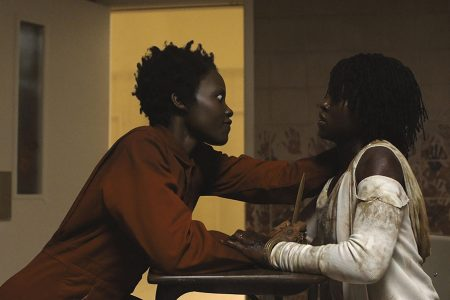 Doubled: Lupita Nyong'o as Red and Adelaide in Jordan Peels's Us (2019)